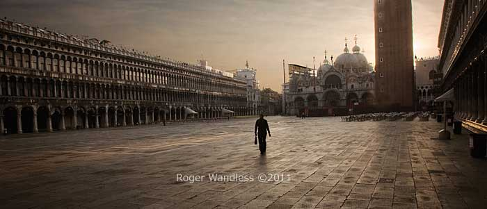 Roger Wandless photography - St Marks, Venice